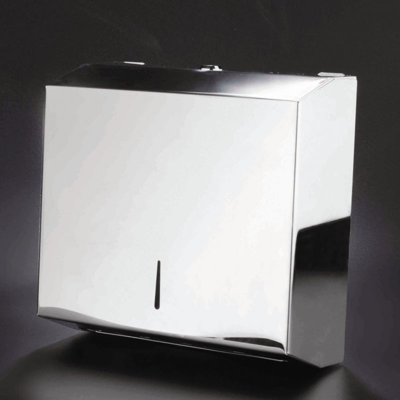 DISPENSADOR TOALLAS Z INOX BRILLO