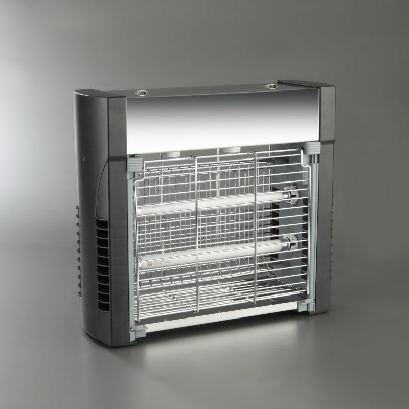 MATAINSECTOS ELÉCTRICO INOX. 2x11 W