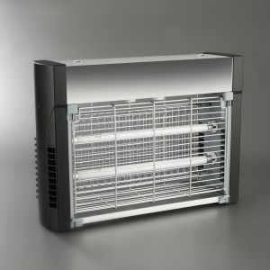 MATAINSECTOS ELÉCTRICO INOX. 2x15 W