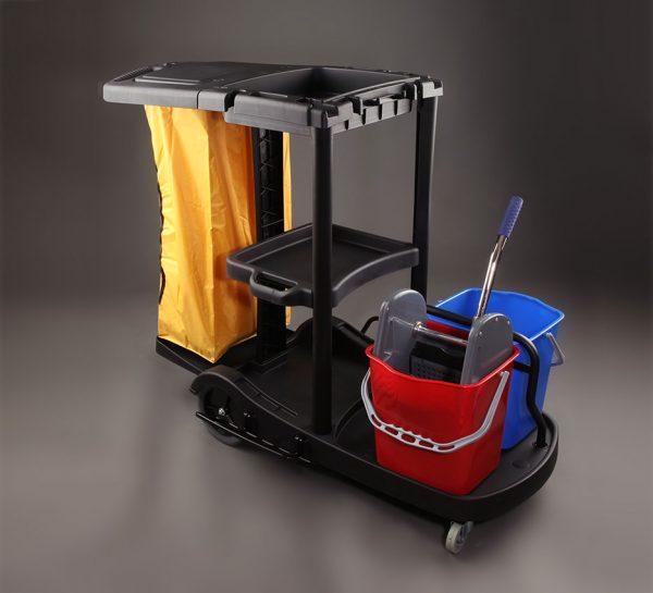Carros de Limpieza para la higiene industrial