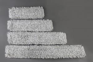 RECAMBIO MOPA ESP 45 x 14 MICROFIBRA BLANCO/GRIS