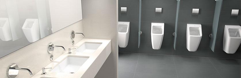 Equipamiento adecuado de ba os y lavabos p blicos for Equipamiento para banos precios