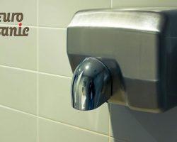 Secadores de manos para baños públicos