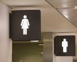 Cambiadores de bebés para baños públicos de hombres